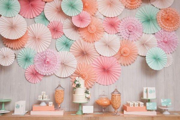 Minted wedding + party decor | Bridal Shower Inspiration