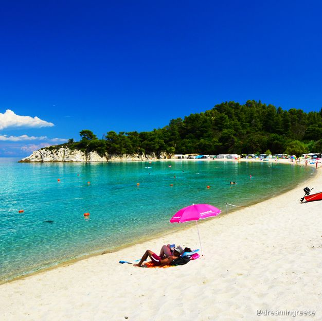 Armenistis beach, Halkidiki Greece. Photo by D. Evangelopoulos. Find the ideal destination for your holidays and explore the beauties of Greece.  #halkidiki #greece #travel #travelguide #dreamingreece