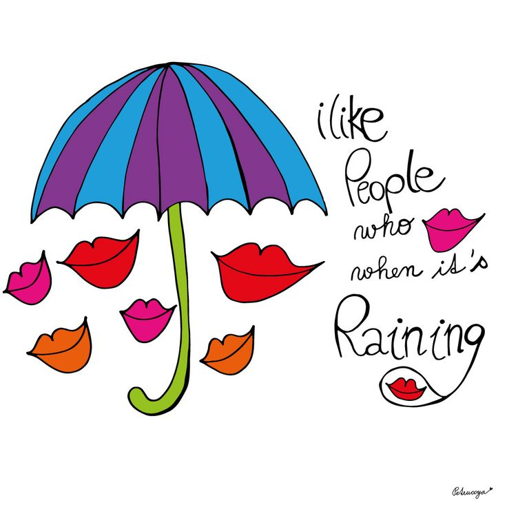 Raining quote by Petruccya