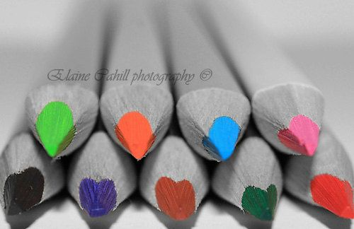Pencils by peridotphotography on Etsy, €30.00