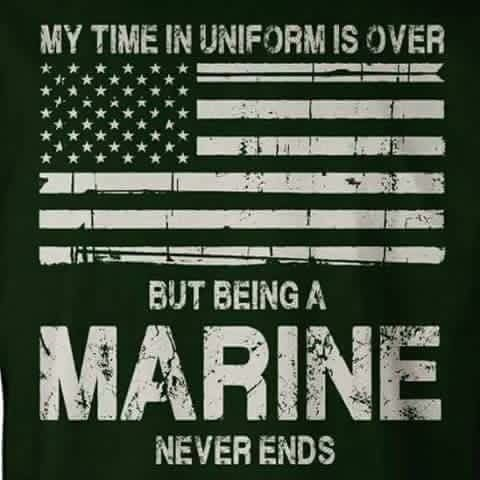Once a Marine, always a Marine                                                                                                                                                      More