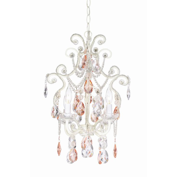 Pacific Coast Lighting Essentials 4 Light Chateau Elegance Mini Chandelier
