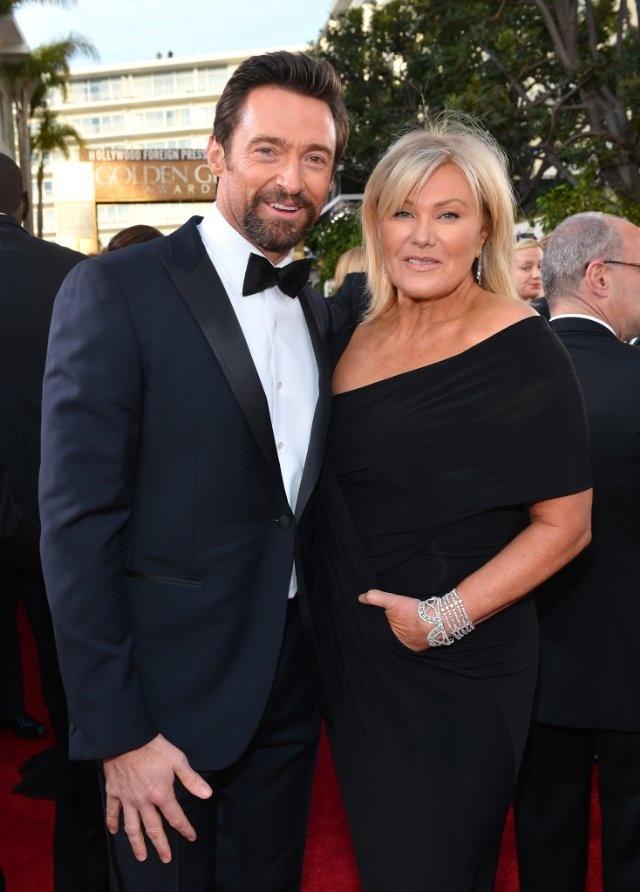Deborra-Lee Furness And Hugh Jackman, Golden Globe Awards
