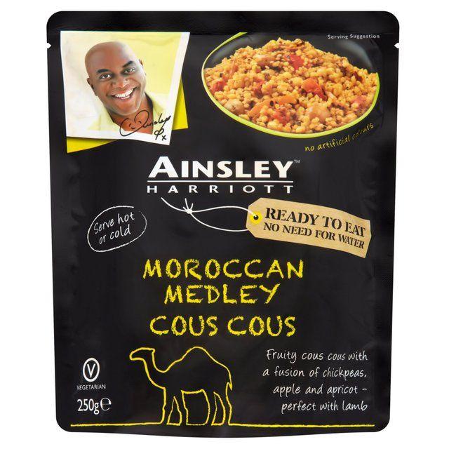 FREE Ainsley Harriott Cous Cous - Gratisfaction UK Freebies #freebies #freestuff