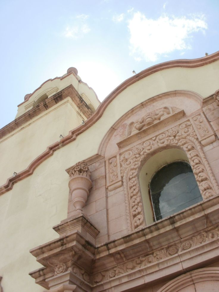 Templo de Santa María Magdalena en Magdalena de Kino, Sonora.