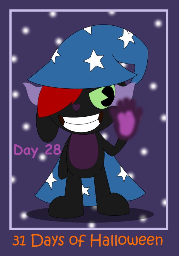 31 Days of Halloween - Day 28 by AnimalComic96 on deviantART