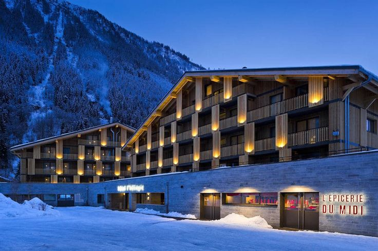 ChamonixMontBlanc in 2020 Hotel spa, Hotels in france