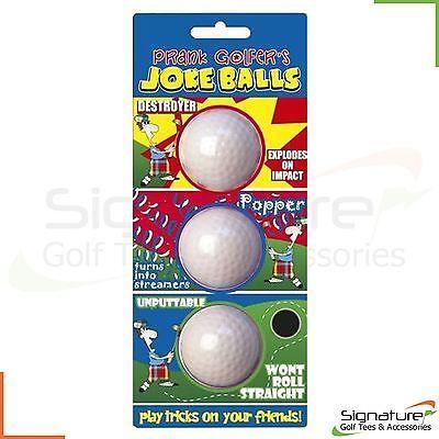 Golf #novelty gift fun prank joke golf #balls -- #exploding - streamer - unputtab,  View more on the LINK: http://www.zeppy.io/product/gb/2/400509942457/