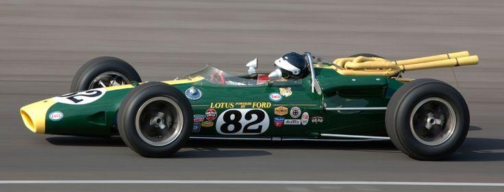 Jim Clark en las 500 Millas de Indianápolis.