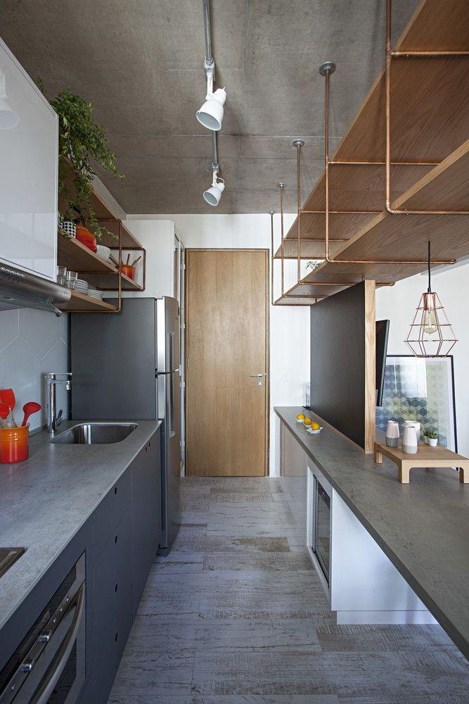 Galeria de Apartamento com partições / Casa100 Arquitetura - 3