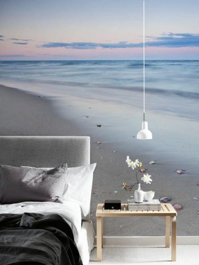 Les 25 meilleures id es de la cat gorie bord de mer chic for Tapisserie murale de luxe