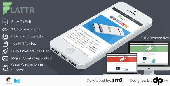 Flattr - Flat Corporation Email Template
