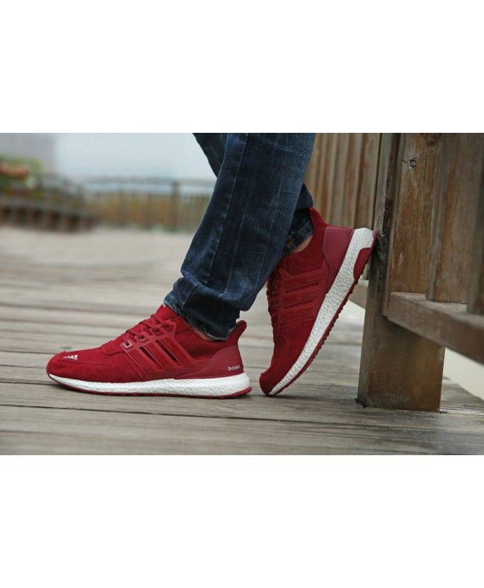 adidas ultra boost mens red