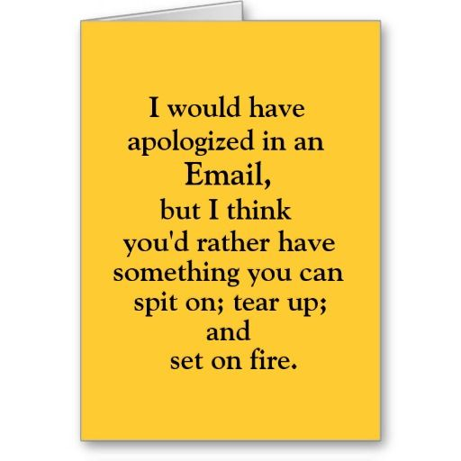 79 best Cards of Apology images on Pinterest Papercraft - free printable sorry cards