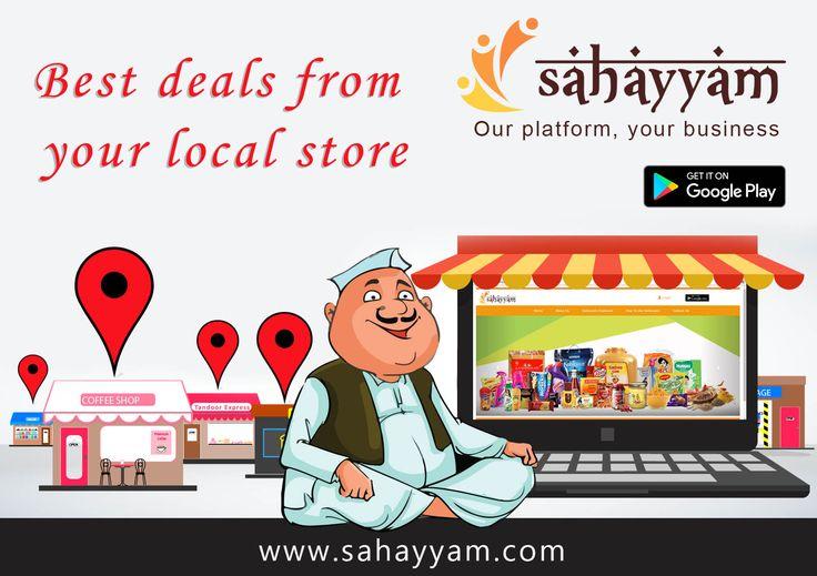 Best deals from your local store www.sahayyam.com Our platform, your business. #Ganpati #Sahayyam #ShopOnline #Ecommerce #GooglePlayStore