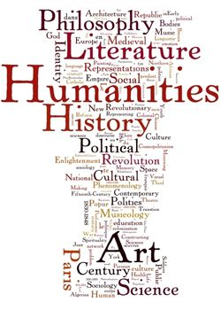 What is meant by the word humanities?
