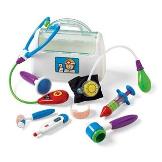 Little Doctor Kit by Kidoozie | eBeanstalk: Ideas, Iplay Features, Doctor Kits, Doctors Kit, Dr Kit, Kid