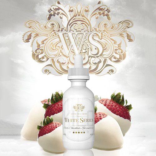 Kilo eLiquids White Series Strawberry White Chocolate - Strawberry Dipped in Melted White Chocolate. 70% VG