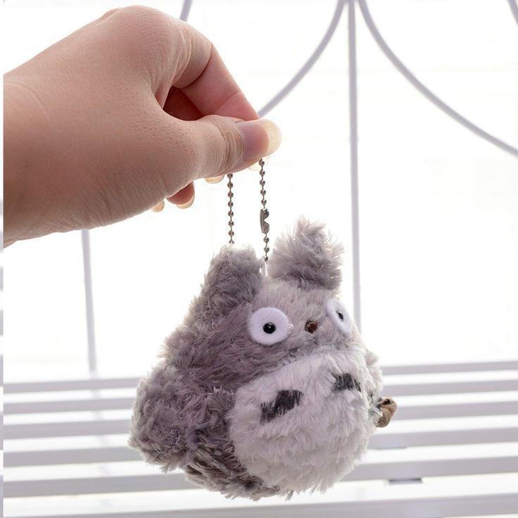 Totoro Plush Keychain //Price: $16.25 & FREE Shipping //     #studioghibli