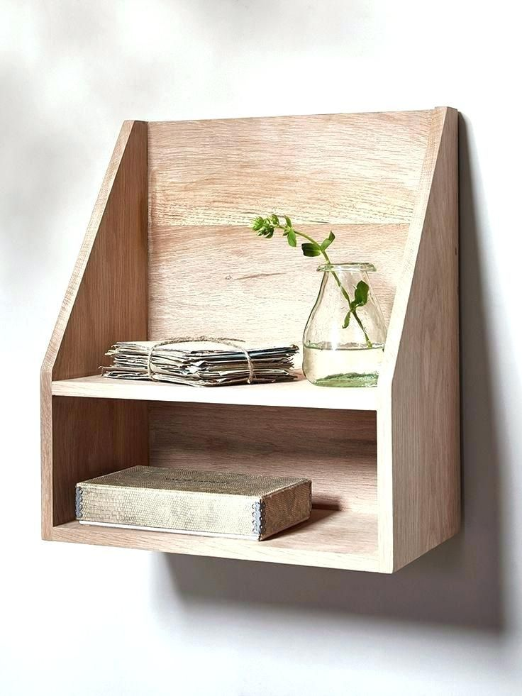 Wooden Hanging Shelf Interior Cool Small Wooden Shelf Creative Of
