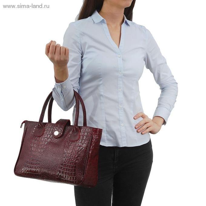 Артикул: 1396101 Сумка женская на молнии, 2 отдела, 2 наружных кармана | Женские сумки и рюкзаки