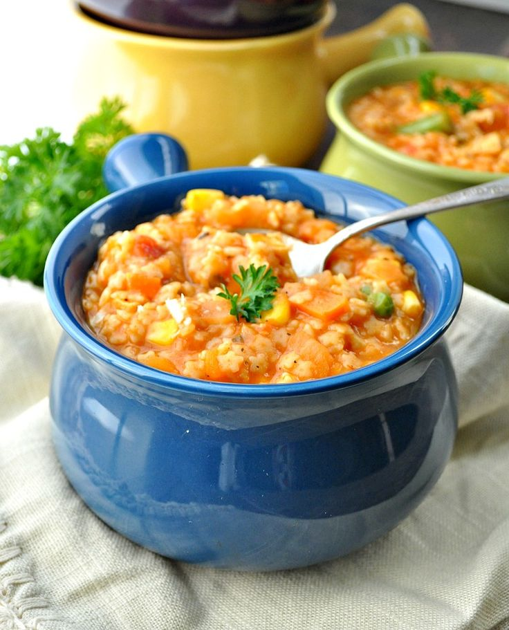With only 5 minutes of prep time, you can have a warm and satisfying bowl of Italian Chicken and Stars Soup on the table for your family. This healthy soup recipe is a one-pot meal that's easy, fast, and very kid-friendly!