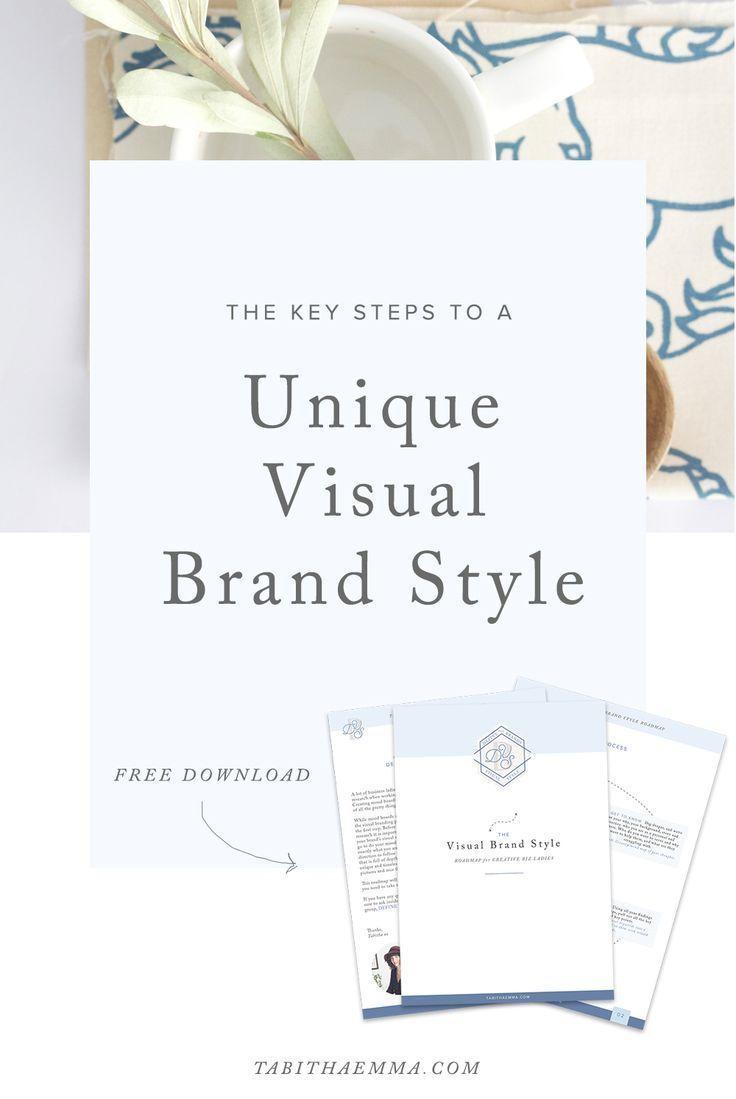 Visual Brand Style Road Map Fashion Branding Branding Design Creative Business