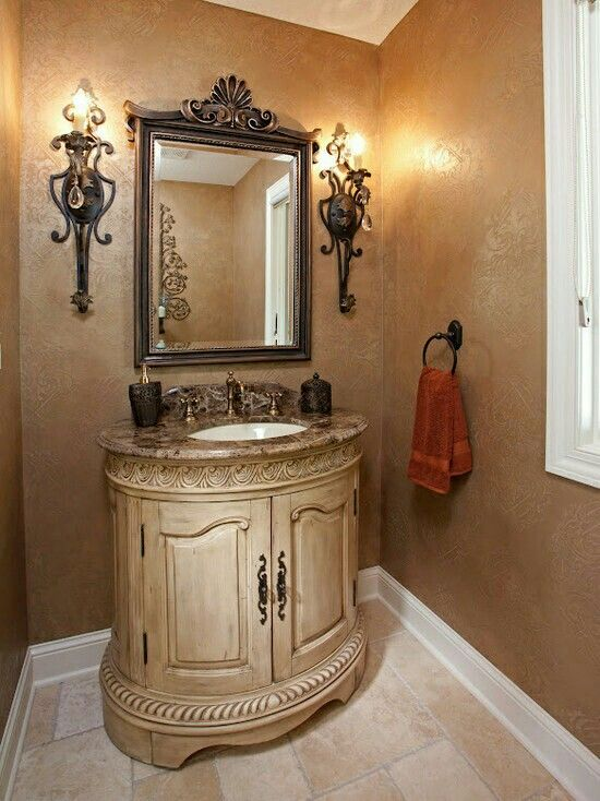 196 best images about elegant bathrooms on pinterest for Elegant small bathrooms