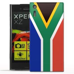 Coque Afrique Du Sud Sony Xperia Xz - Housse Silicone - Protection rigide
