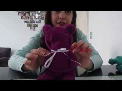 Urso feito com toalha de rosto - YouTube