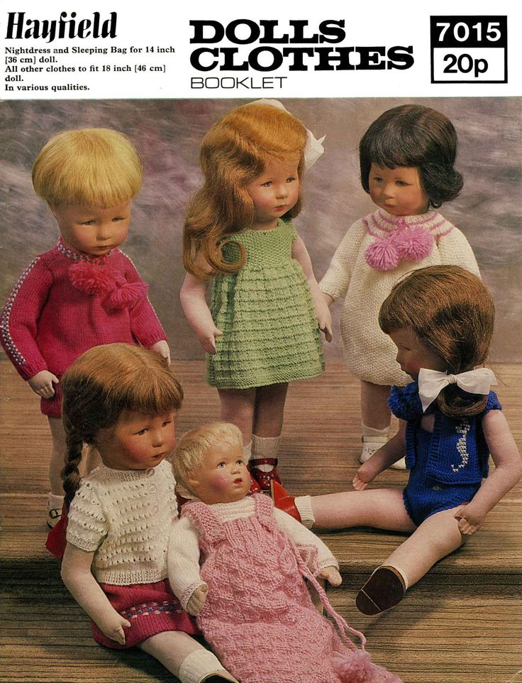 84 best Dolls Clothes images on Pinterest | Postage costs, 1970s ...