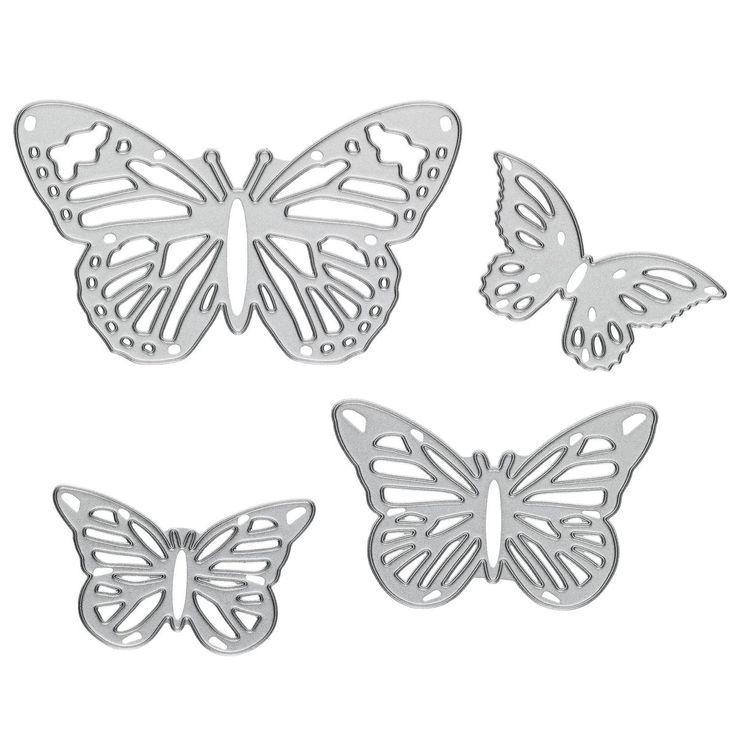 Sizzix Winged Beauties 4 Dies