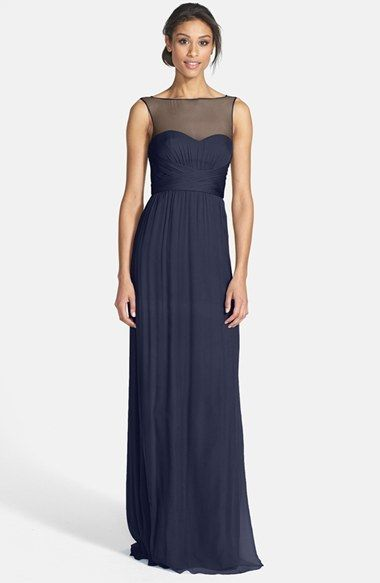 1000  images about Navy Blue Bridesmaid Dresses on Pinterest ...