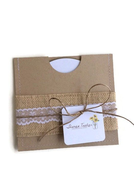 CD Sleeve - DVD Sleeve - Photographer Packaging - CD Case