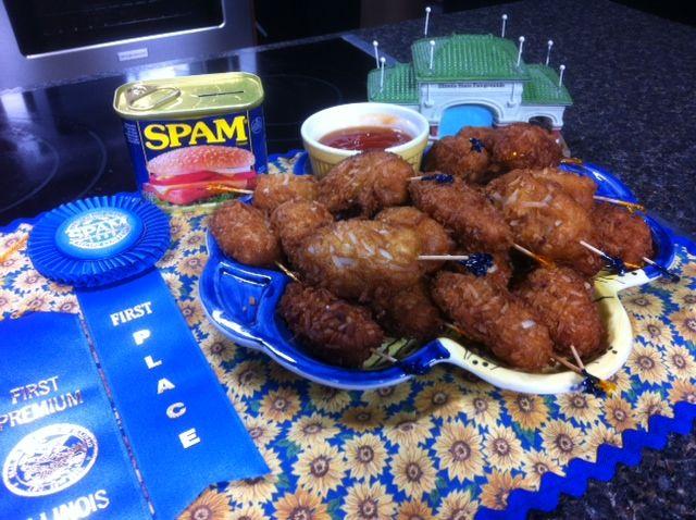 Cajun Coconut SPAM Fritters