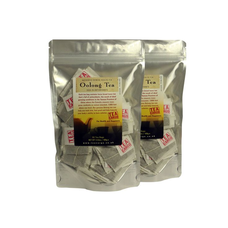 Tea Cargo Slimming Oolong Tea (One Month): Helps the body to burn incarcerated fats and in clinical tests resulted in 67 extra calories being burned per day. Our most natural and pure slimming tea high in antioxidants.