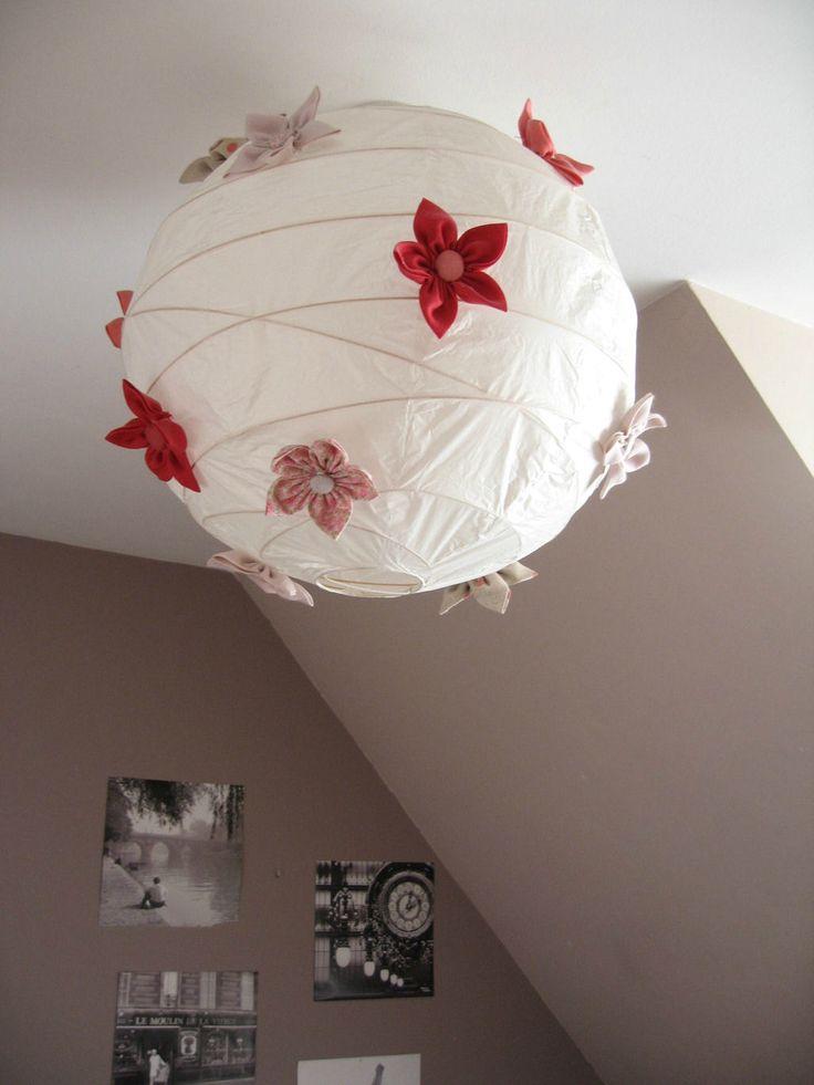 22 best diy boule japonaise images on pinterest paper lanterns bonjour and light fixtures. Black Bedroom Furniture Sets. Home Design Ideas