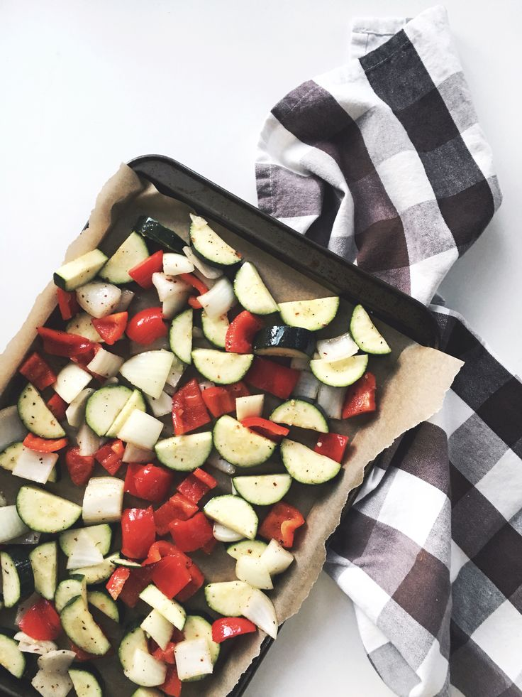 Mondays are for big batches of roasted veggies!