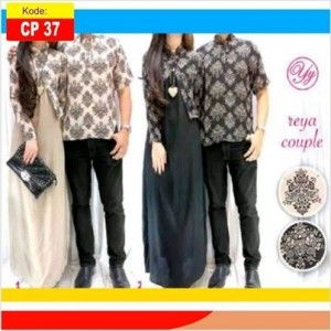 baju muslim couple batik