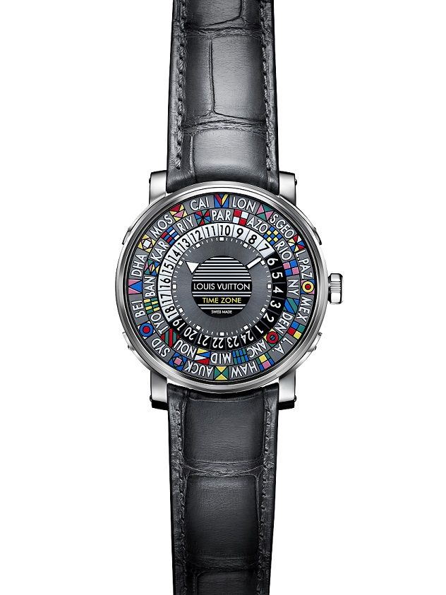 Louis Vuitton - Hodinky Escale Time Zone