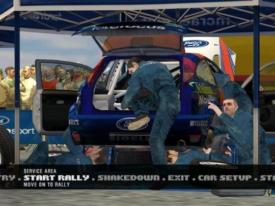 Colin McRae Rally 3 PC Game Screenshots