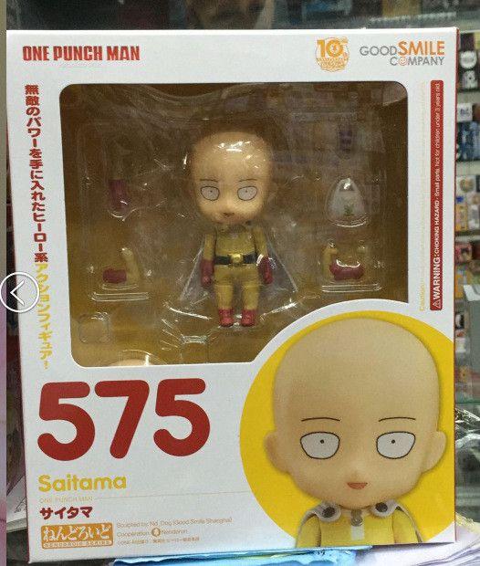 ONE PUNCH MAN Action Figure Nendoroid Saitama Sensei Figures 100mm