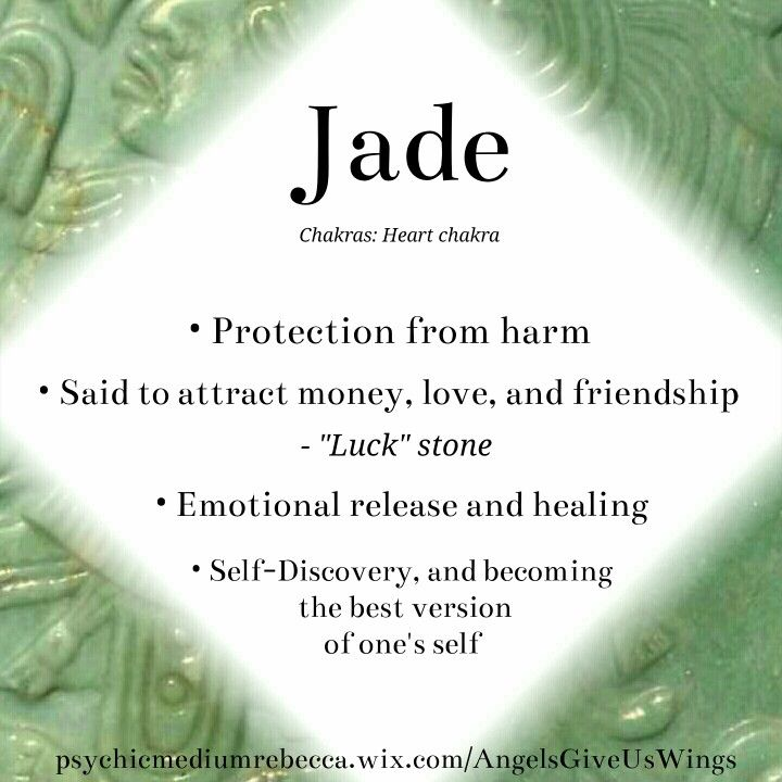 Jade crystal meaning