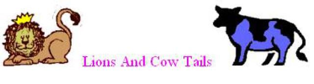 Halloween Costume Animal Tails - Ideas and Directions: Lion or Cow Tail