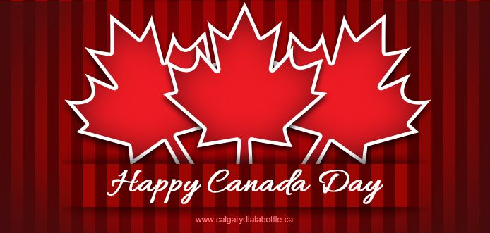 1st July is considered the national day of Canada and undoubtedly, the birthday of the place calls for great celebrations all over the country. Calgary Dial a Bottle takes this opportunity to wish all Canada lovers a very warm and happy Canada Day. Have fun to the fullest!