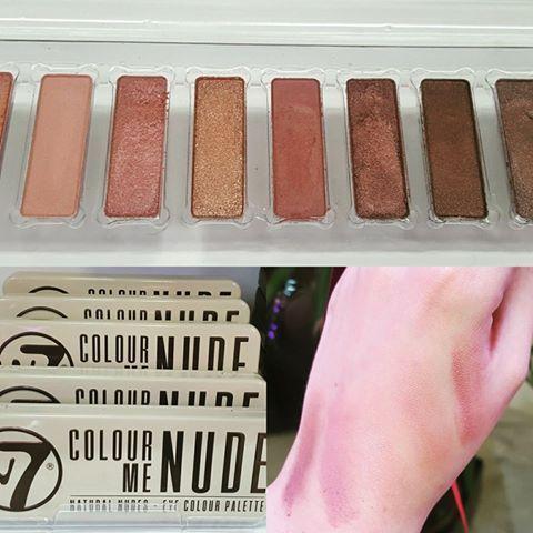 A palete Colour Me Nude da W7 é fantástica para usares esta Primavera! 💕💕 Já tens a tua? 😍😍😍