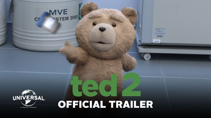 Ted 2 - Official Trailer (HD) Ted Is Coming, Again - June 26 http://www.legalizeted.com/ #LegalizeTed Seth MacFarlane returns as writer, director and voice s...
