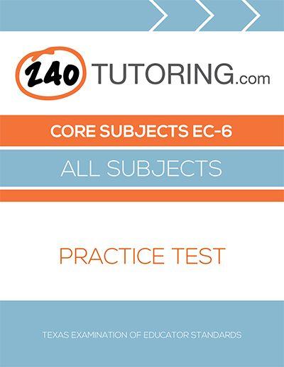 41 best 240tutoring images on pinterest teacher certification core subjects ec 6 practice test for teacher certification test 240 tutoring fandeluxe Gallery