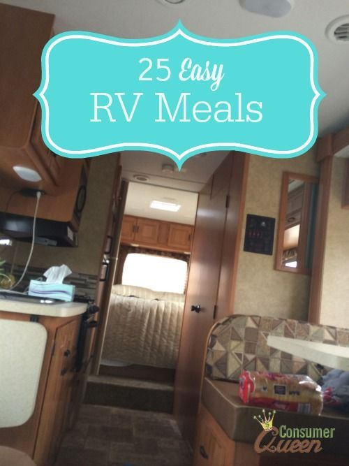 25 Easy RV Meals