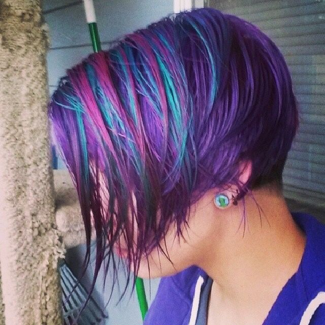 Purple Haze Manic Panic Pastel 25+ best ideas about M...